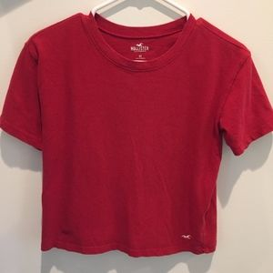 Hollister Red T-Shirt